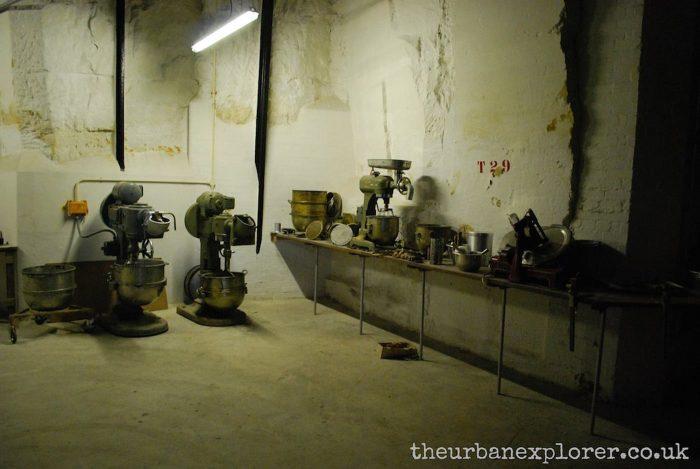 Burlington Bunker, under RAF Corsham, Wiltshire
