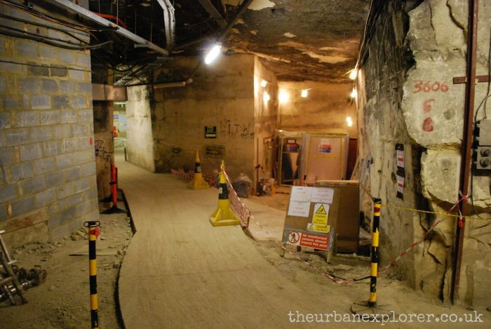 Burlington Bunker, under RAF Corsham, Wiltshire