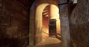 Corridor in the depths of HMP Verne