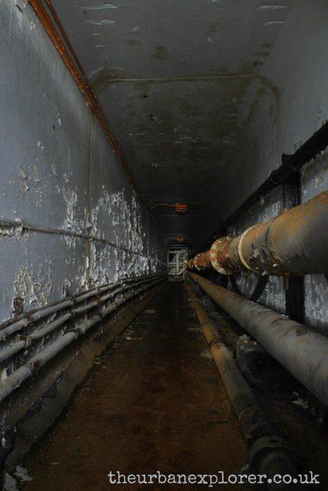 Underground Fuel Storage Bunkers, Poole, Dorset