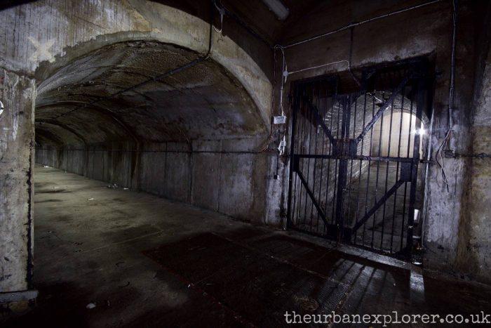 Naval Fuel Bunker, Portsdown Hill, Hampshire
