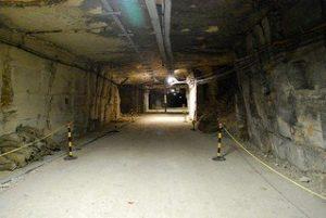 Entrance Slope from Box into Burlington bunker